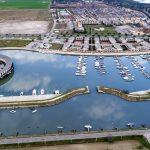 Marina di Porto Reno - Vista da sud