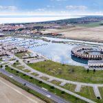 Marina di Porto Reno - Vista d'insieme da nord ovest
