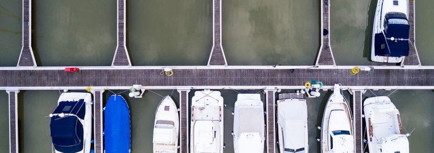 Marina di Porto Reno - I posti barca